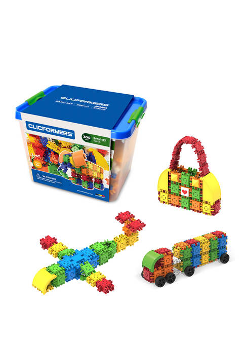Magformers Clicformers Basic 300 Piece Tub