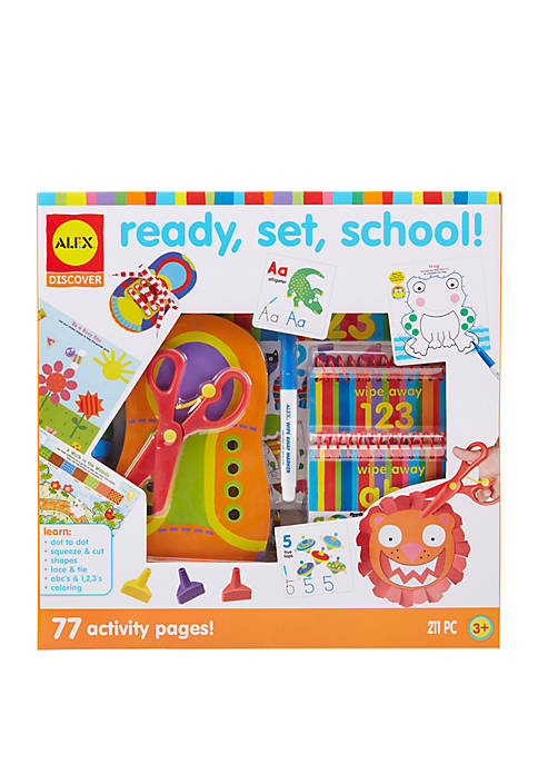 Discover Ready, Set, School