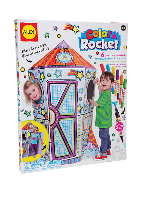 Alex Toys Craft Color a Rocket Childrens Kit