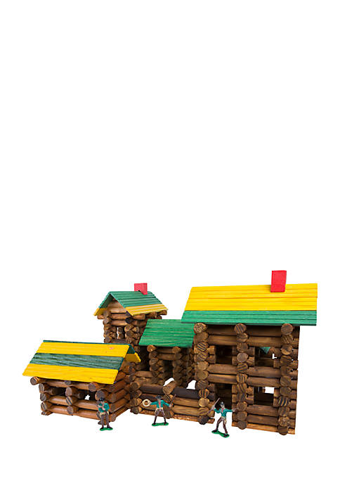 Ideal Frontier Logs 300 Piece Classic Wood Construction