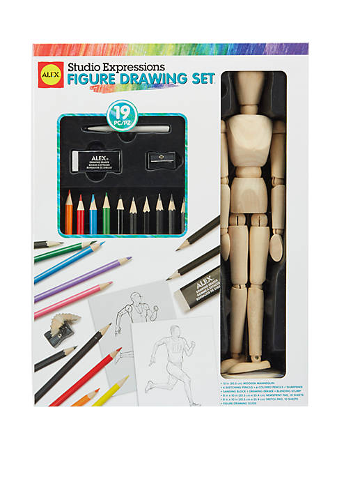 Alex Toys Art Studio Expressions Figure Drawing Set