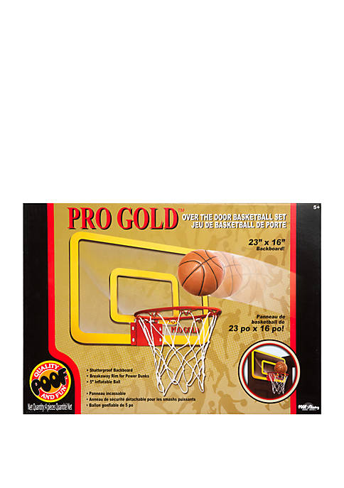 Pro Gold Large Basketball Hoop