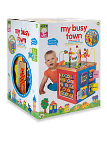 My Busy Town Wooden Activity Cube