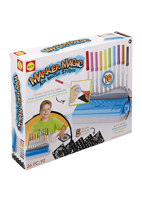 Alex Toys Art Marker Magic Air Brush Studio