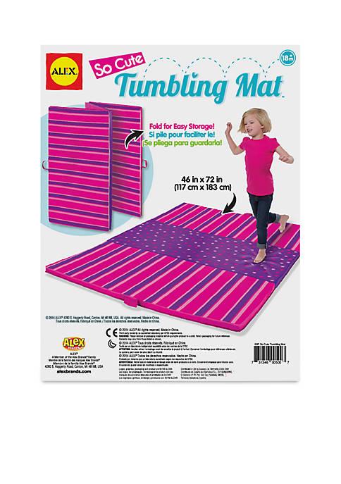 Active Play Tumbling Mat So Cute