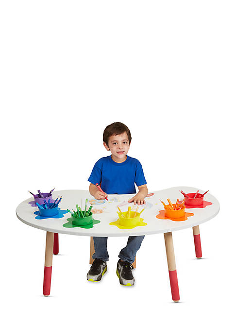 Artist Studio Color Fun Pallet Desk & Chair