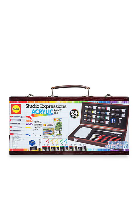 Alex Toys Art Studio Expressions Acrylic Painting Set