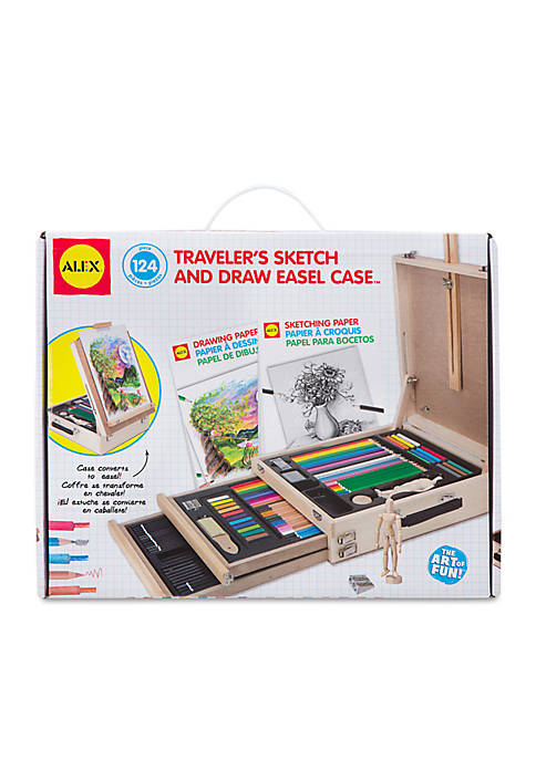 Artist Studio Travelers Sketch and Draw Easel Case
