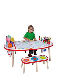 Alex Toys Artist Studio Super Art Table - Rainbow Dots