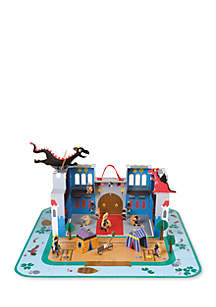 Janod The Fantastic Castle Puzzle Playset