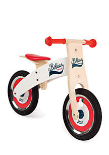 Bikloon Red and White Balance Bike