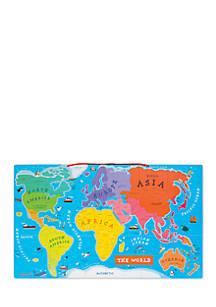 Janod World Map.Janod Magnetic World Map English Version Belk