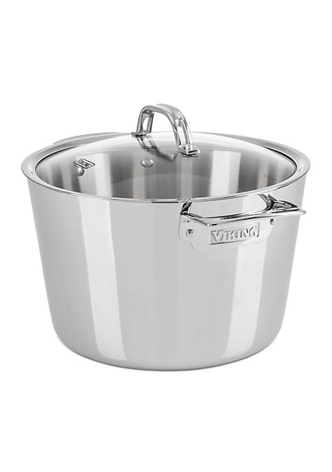 Contemporary Stock Pot With Lid