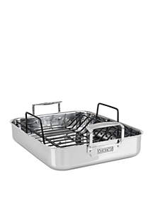3-Ply Roasting Pan With Non-Stick Rack