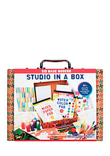 Studio in a Box Art Supply Kit