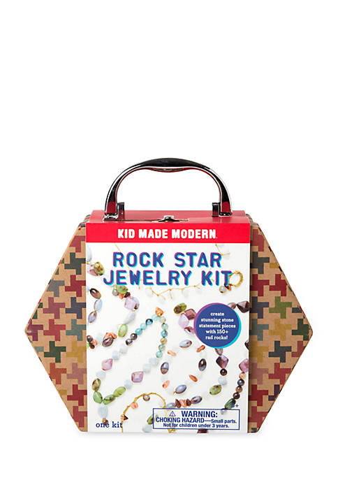 Kid Made Modern Rock Star Jewelry Making Kit