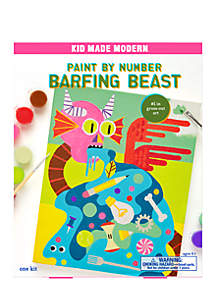 Paint By Numbers- Barfing Beast