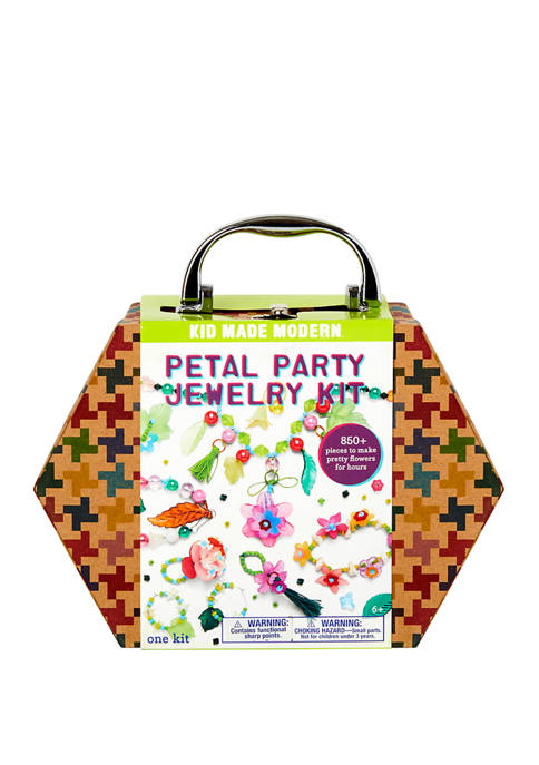 Kid Made Modern Petal Party Jewelry Making Kit
