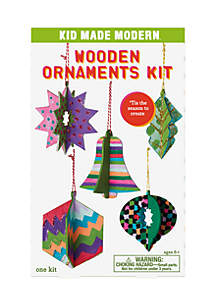 Wooden Ornaments Kit