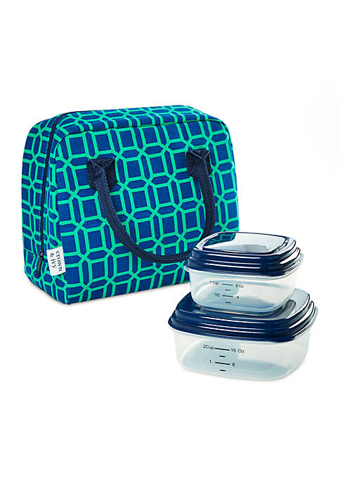 Crown & Ivy™ Bloomington Insulated Lunch Bag Sets