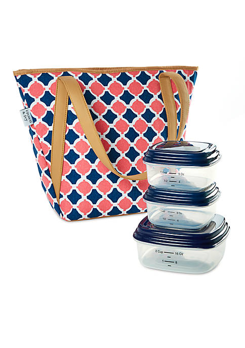 Crown & Ivy™ Huntington Insulated Lunch Bag Sets