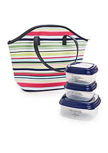 Sauna Stripe Davenport Lunch Kit