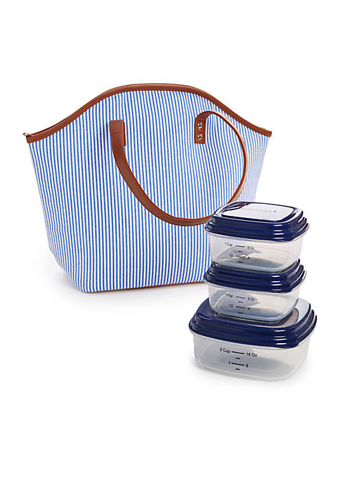 Crown & Ivy™ Sammy Stripe Davenport Lunch Kit