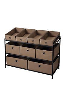 Multi Bin Storage Organizer