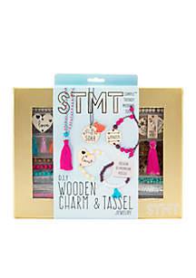 Wooden Charm & Tassel Craft Kit
