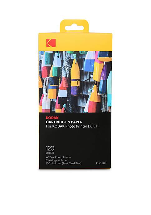 120 Pack Paper for the Kodak Printer Dock