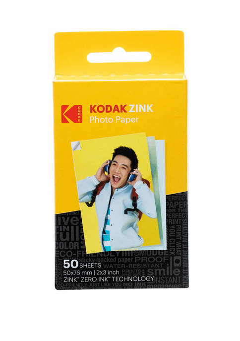 Zink Photo Paper 50 Pack