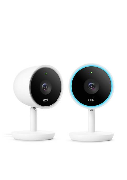 Nest Cam IQ Indoor Camera 2-Pack