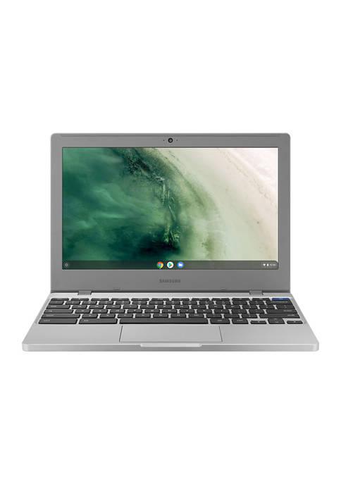 Samsung Chromebook 4 11.6 Inch, Intel Celeron N4020 4GB RAM, eMMC - Platinum Titan