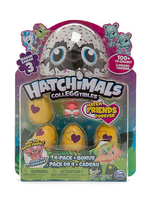 Hatchimals Colleggtibles 4-Pack Bonus