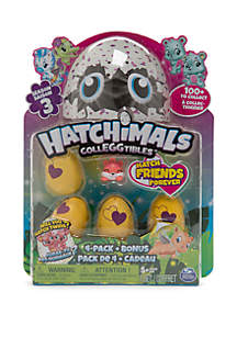 HATCHIMALS Hatchimals Colleggtibles 4-Pack Bonus