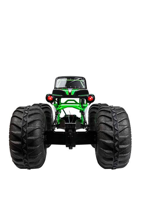Monster Jam Mega Grave Digger Remote Controlled Toy