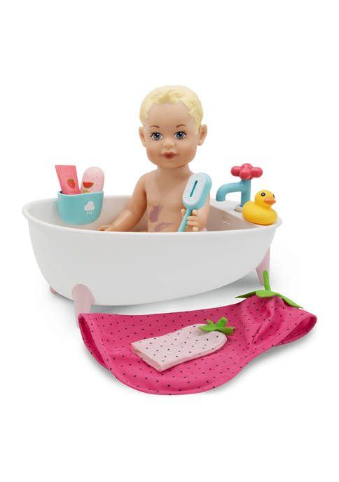 FAO Schwarz Toy Doll Bath 9 Piece Set