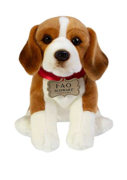 10 Inch Plush Beagle Toy