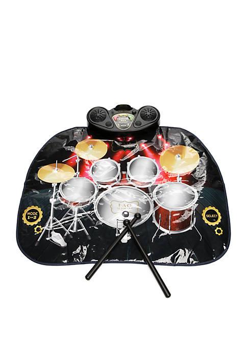 Tabletop Drum Mat Set
