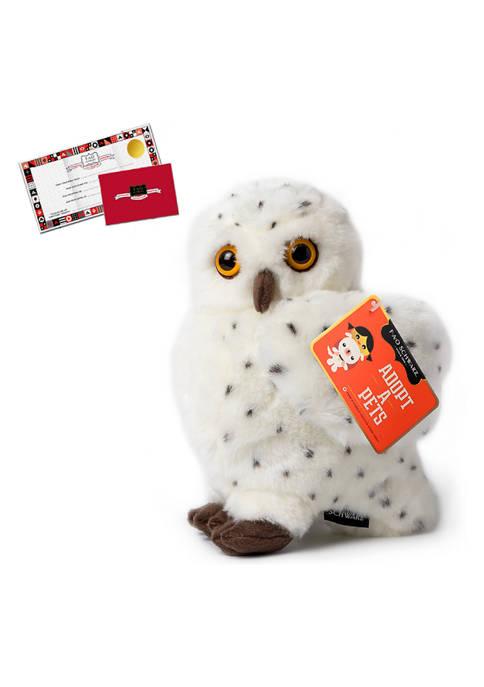 FAO Schwarz 10 Inch Plush Realistic Owl Stuffed