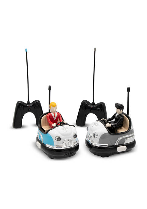 Toy RC Bumper Car Set Retro