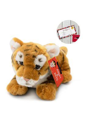 Fao Schwarz Toy Plush Cub Tiger 12 Inch