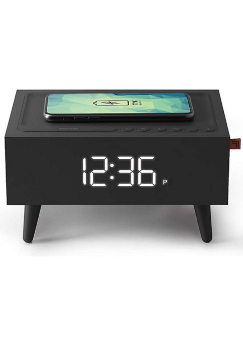 Clock Radio with Wireless Qi Phone Charger