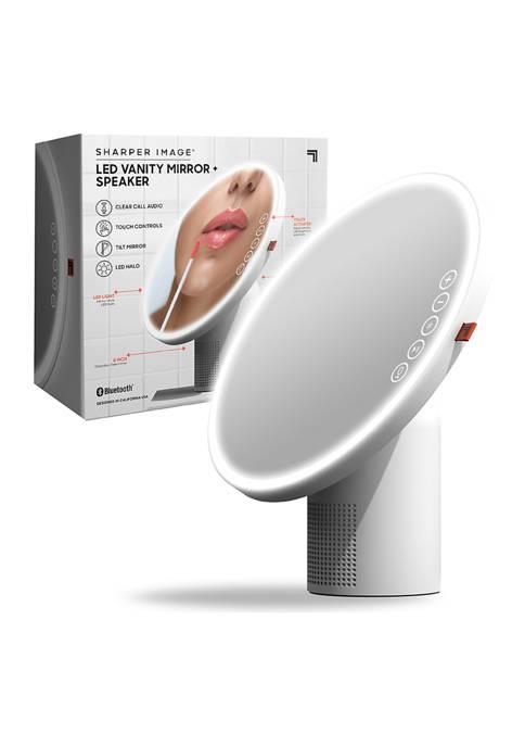 Vanity Mirror Round LED with Speaker Bluetooth