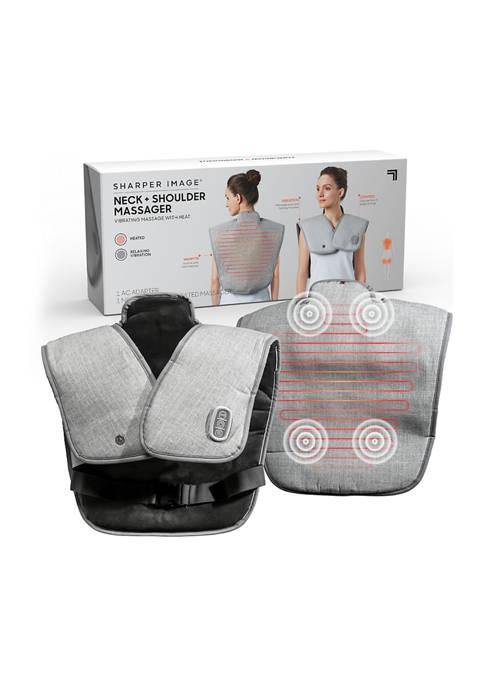Sharper Image Heated Neck and Shoulder Massager for