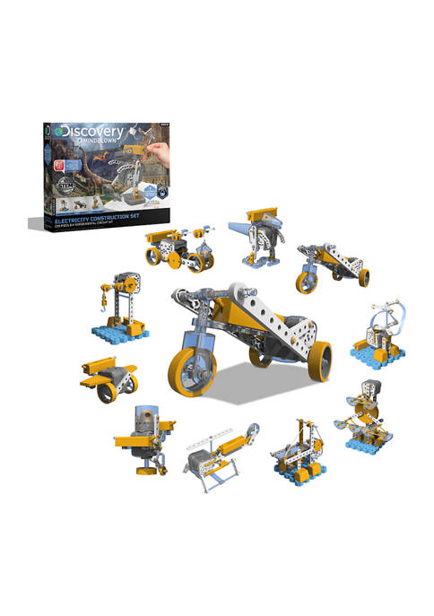Discovery Mindblown Electricity Construction Set, 10 Robotic