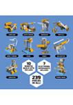 Electricity Construction Set, 10 Robotic Build Kits & 7 Electronic Circuit Experiments