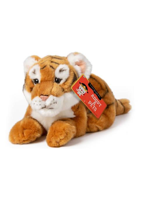 FAO Schwarz Tiger Cub Toy Plush 12 Inches