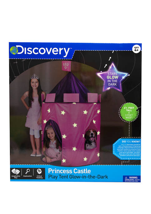 Princess Castle Glow in the Dark Tent