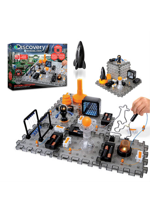 Discovery Mindblown Toy Circuitry Action Experiment Set